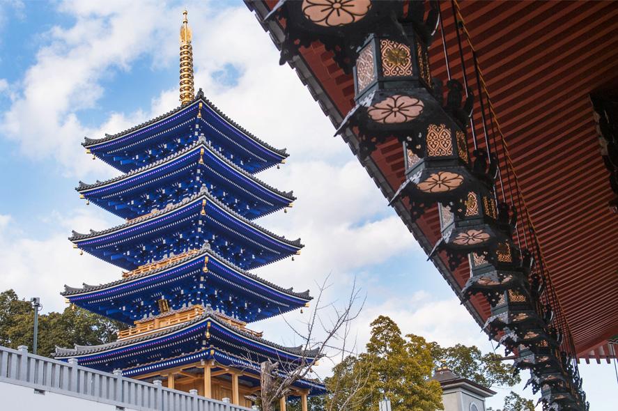 中山寺 風景写真