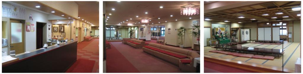 千葉神社 ご祈祷 受付 待合室