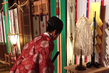 福岡水天宮 ご祈祷