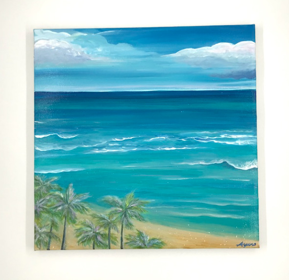 Casie_Feel the wind of Hawaii
