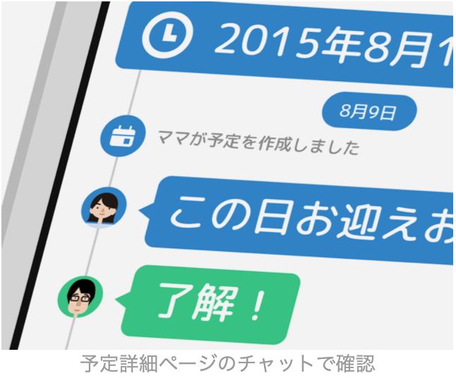 Timetree_メッセージ機能