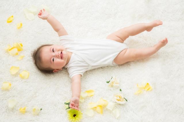 赤ちゃんモデルのイメージ画像